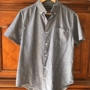 FIVE FOUR CLUB men's button down shirt. M
